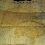 満州、台湾などの路線地図
