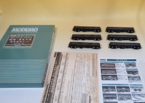 Nゲージ MODEMO NS105 国鉄20m級 旧形客車 臨客・準急列車 基本車両セット 6両セット2500