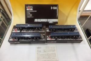 HOゲージ KATO 3-504 20系特急形寝台客車 カニ21 ナシ20 ナハネフ22・23 4両基本セット