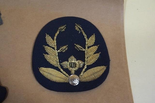 鉄道公安職員 階級章 ワッペン 10枚